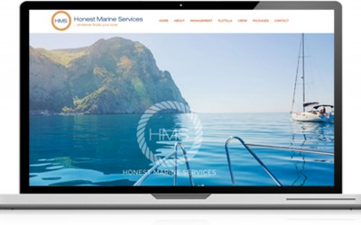New website for Honest Marine Services