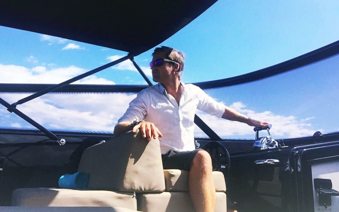 Captain Max in Saint Tropez