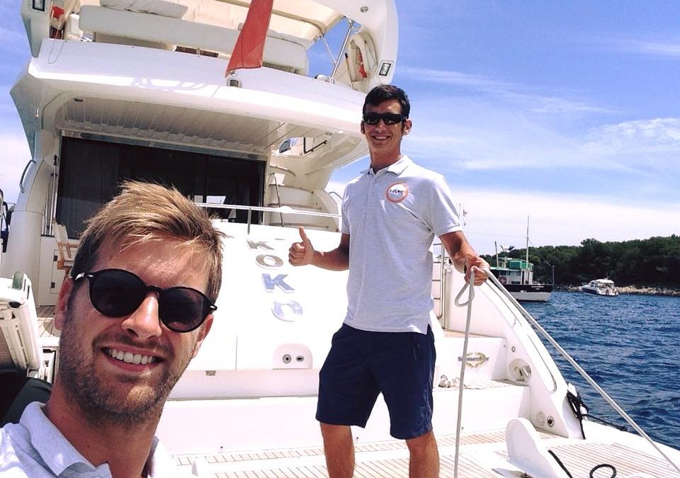 Captain Albin & JC in Cannes